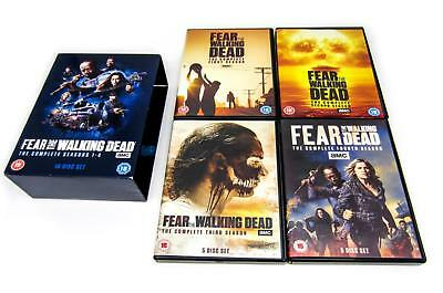 Fear The Walking Dead Season 1-4 Complete DVD Box Set New & Sealed