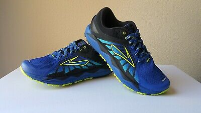 c35a3dee5a0 Brooks Caldera 2 Men s Trail Running Shoes 1102421D445 ElectricBlue Lime  Size8.5