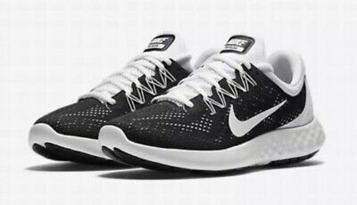 a28ef7c46a35 Nike Lunar Skyelux H Running Shoes 889270 001 Black Summit White Size 10