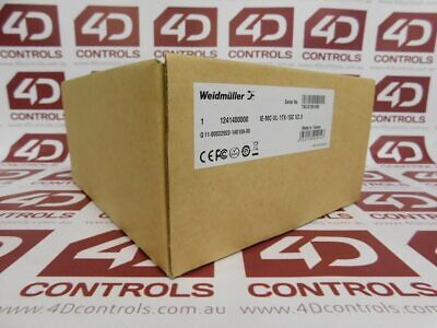 Weidmuller 1241400000 Media Converter IE-MC-VL-1TX-1SC - New Surplus Open