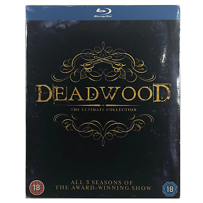 Deadwood - The Ultimate Collection Blu-Ray Box Set **Region B**