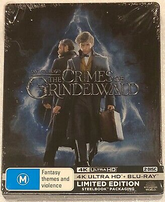 Fantastic Beasts The Crimes of Grindelwald 4K Steelbook - Ltd Edition Blu-Ray