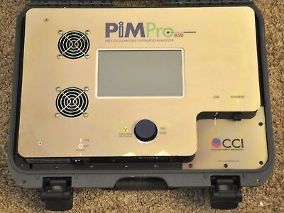 CCI Pimpro- 850 Tower Pimpro 850 Passiv Intermodulation Pim Profi Analysator