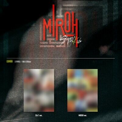 Stray Kids-[Cle 1:Miroh] Noraml random Ver CD,Book,Card,Post  pre order boma