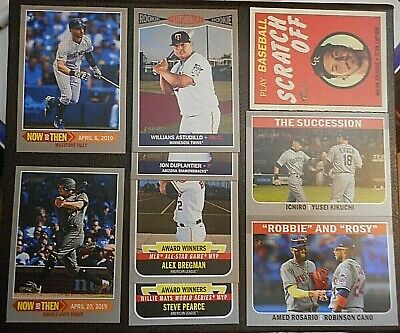 PiCk 2019 tOPPS hERITAGE - SP iNSeRtS - TAN NAP SCRATCH OFF fLaShbaCk hN TN etC!