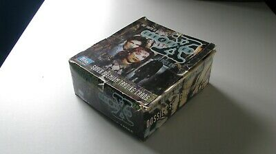 X Files Series 1 Card Box with Empty Packets. Super Premium Trading Cards