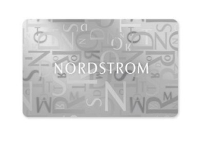 $45 Nordstrom Gift Card