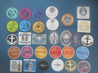 30 different SAIL & ANCHOR Micro Brewery,Western Australia  BEER Coasters