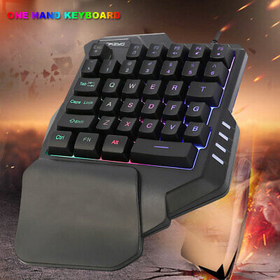 Mechanical One-handed Keyboard & Mouse Hand Game Artifact Left Hand Game Keypad
