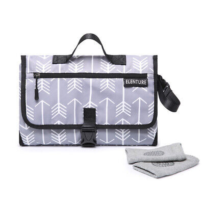 Diaper Changing Pad Baby Infant Portable Travel Changing Station Mat Bag Pouch