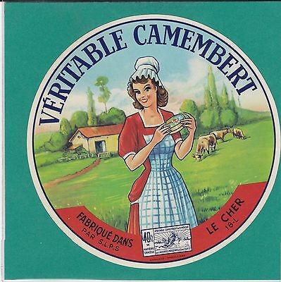 F 512  Fromage Camembert Argent Sur Sauldre  Cher Costume