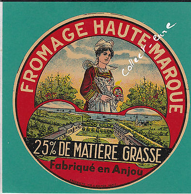 F 484 Fromage 25% Anjou Anjevine Coiffe  Usine Fromagerie