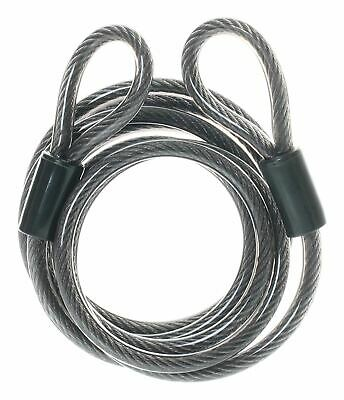 Mammoth X-Line Motorcycle Motorbike 1.8m Lock Extender Cable With End-Loops