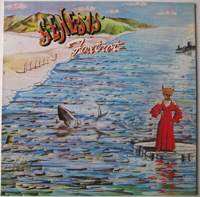 GENESIS FOXTROT KOREA VIRGIN press with INSERT! prog progressive rock!