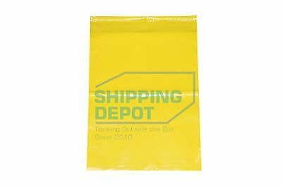 100 10x13 YELLOW Colored Boutique POLY MAILERS Self Seal Bags SHIPPING DEPOT