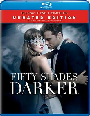 Fifty Shades Darker (2 Disc, Blu-ray + DVD, Unrated Edition) BLU-RAY NEW