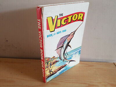 VICTOR BOOK FOR BOYS 1968 from Victor Comic