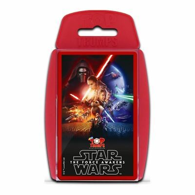 Top Trumps Educational Fun Card Game - STAR WARS - The Force Awakens (Episode 7)