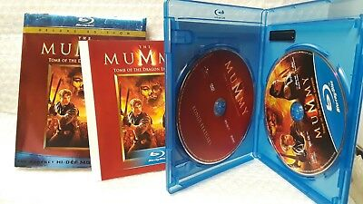 The Mummy: Tomb of the Dragon Emperor(Blu-ray Disc, 2008, 2-Disc Set) No Digital