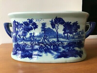 """Authentic Victoria Ware Planter or Foot bath, very large 19"""" wide, 8"""" high"""