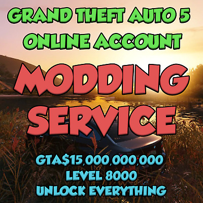 Gta 5 - Pc Mod Recovery Service / Pre-Modded Account