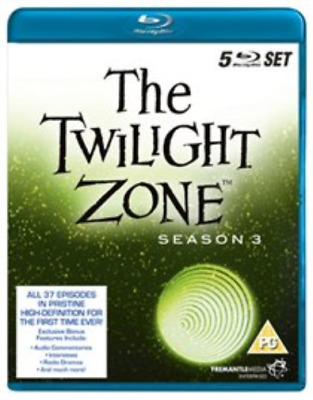 Charles Bronson, Elizabeth ...-Twilight Zone - The Original Series Blu-ray NUEVO