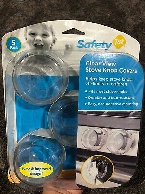 Safety 1st Clear Stove Knob Covers