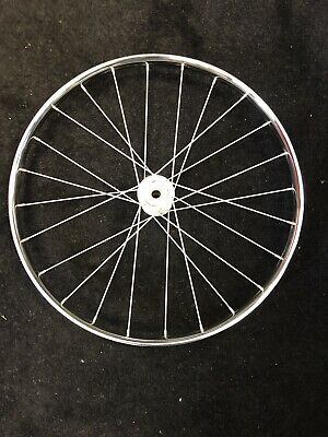 Silver Cross Vintage Chrome Spoked Wheel