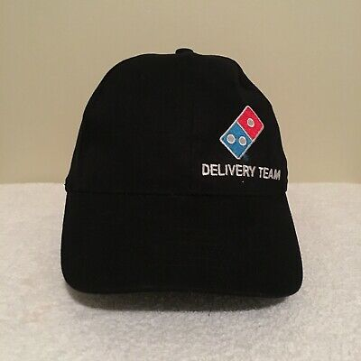 Domino's Pizza Delivery Team Staff Employee Adult Baseball Cap Hat