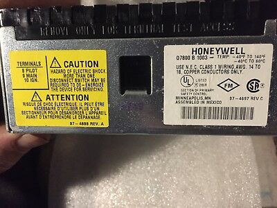 Honeywell Q7800B1003 New In The Box