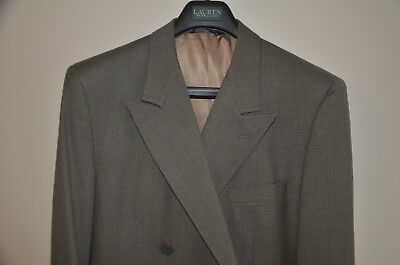 Gieves & Hawkes No. 1 Seville Road I. Magnin Double-Breasted Houndstooth Blazer
