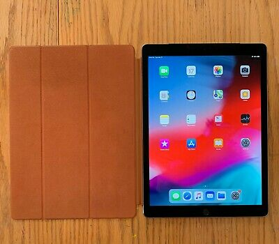 Apple iPad Pro 1st Gen. 128GB, Wi-Fi + Cellular (AT&T), 12.9in - Space Gray