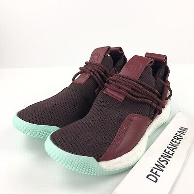 0508ded4681 Adidas James Harden LS 2 Men s 10.5 Lace Basketball Shoes CG6277 Maroon  Mint New