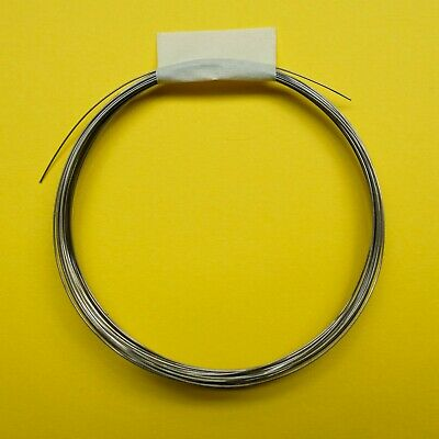 Nichrome resistance wire for hot wire cutter, 26 AWG, 5 metres