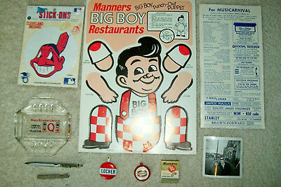 10 Vintage Cleveland, OH Collectibles  1940s-1980s   Barnaby, Manners  Free Ship