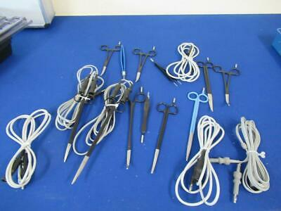 Selection Of Electrosurgical Diathermy Leads An Tools