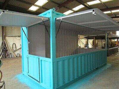 20Ft X 8Ft Lift Hatch Container
