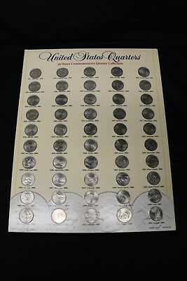 1999-2008 State Quarters Complete Set 50 Uncirculated Coins