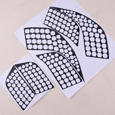 Car Auto Rear Tail Light Lamp Honeycomb Stickers fits Peugeot 3008 GT 3008 16-18