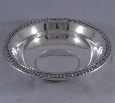 Vintage F.B. Rogers Silver Co. Round Nappy Bowl Candy Dish Taunton, MA