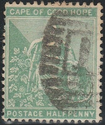 Cape of Good Hope (South Africa) 1893 ½d new colours (Used) SG 59