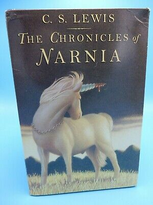 Vtg C S Lewis Chronicles of Narnia Box Set Volumes 1 - 7 First Scholastic 1995