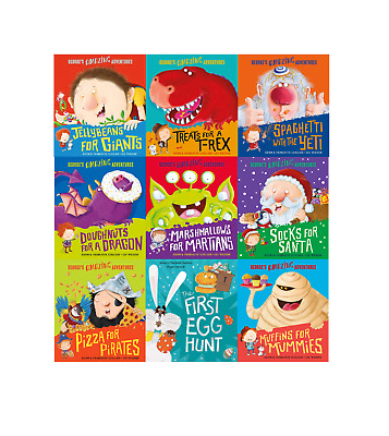 George's Amazing Adventures 9 Books Set Collection Inc Muffins For Mummies