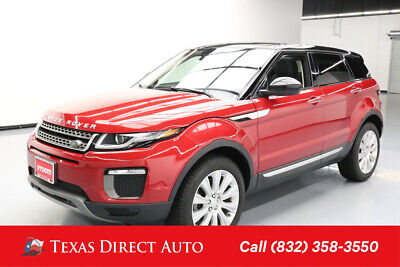 2016 Land Rover Range Rover HSE Texas Direct Auto 2016 HSE Used Turbo 2L I4 16V Automatic 4WD SUV Premium