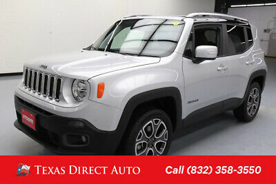 2018 Jeep Renegade Limited Texas Direct Auto 2018 Limited Used 2.4L I4 16V Automatic 4WD SUV