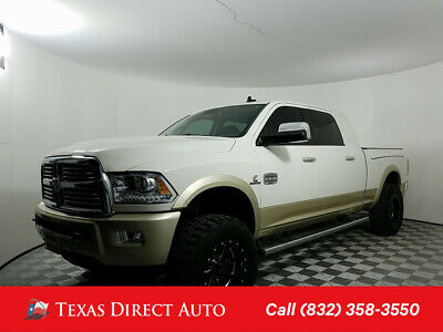 2016 Ram 3500 Longhorn Texas Direct Auto 2016 Longhorn Used Turbo 6.7L I6 24V Automatic 4WD Pickup
