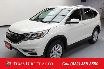2015 Honda CR-V EX-L Texas Direct Auto 2015 EX-L Used 2.4L I4 16V Automatic AWD SUV