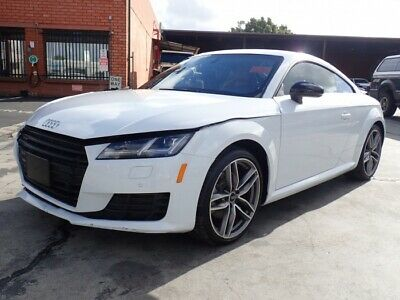 2017 Audi TT 2.0T Coupe quattro 2017 Audi TT Coupe Salvage Damaged Vehicle! Priced To Sell Wont Last! Must See!!