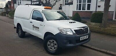 TOYOTA HILUX 2013 63 SINGLE CAB 2.5 4X4 4WD WHITE MANUAL extra king cabin
