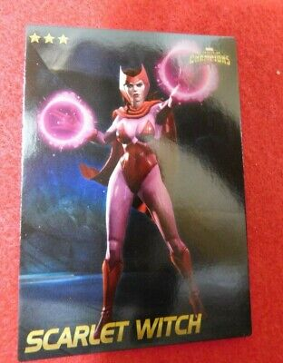 Marvel Contest of Champions: Scan-into-game Arcade card (Scarlet Witch) -- NEW -